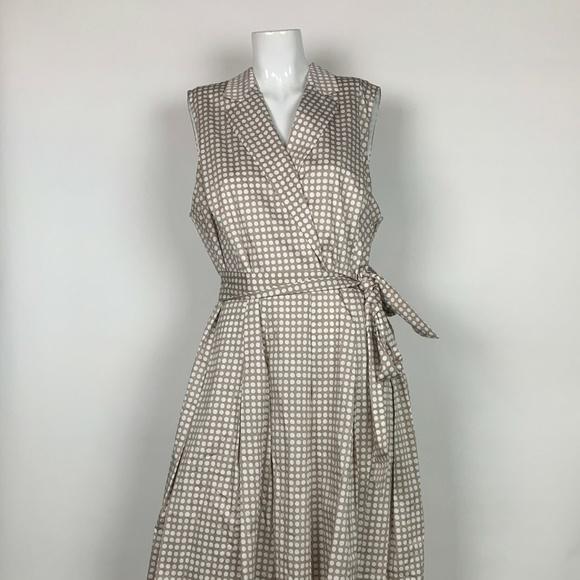 Anne Klein Dresses & Skirts - Anne Klein Dress Printed Notch Collar Size 18 Plus